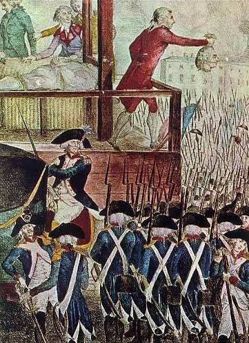 the guillotine became the jacobin regimes trademark