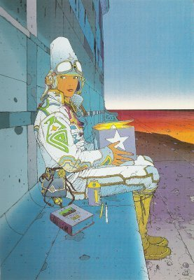 L'exposition Trans Forme ou Jean Giraud vs Moebius