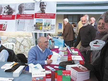 Le Goût des pages à Brantes... un salon à part