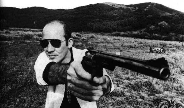 Biographie graphique de Hunter S. Thompson chez Nada éditions !