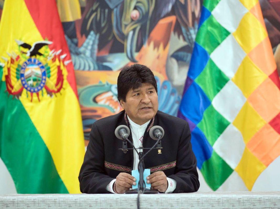 Bolivie : Evo Morales réélu, les Etats Unis tentent de lancer un coup d'état. #Bolivia #BoliviaDecide
