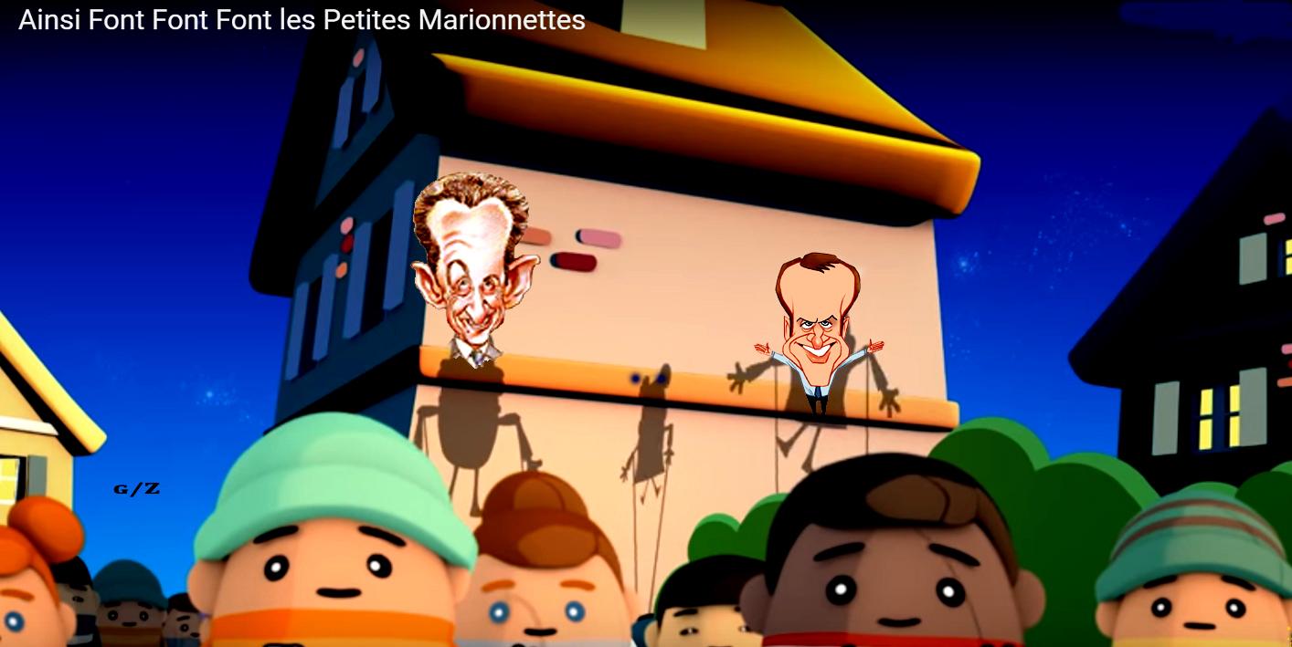 Sarkozy, Macron... Les p'tits patapons !