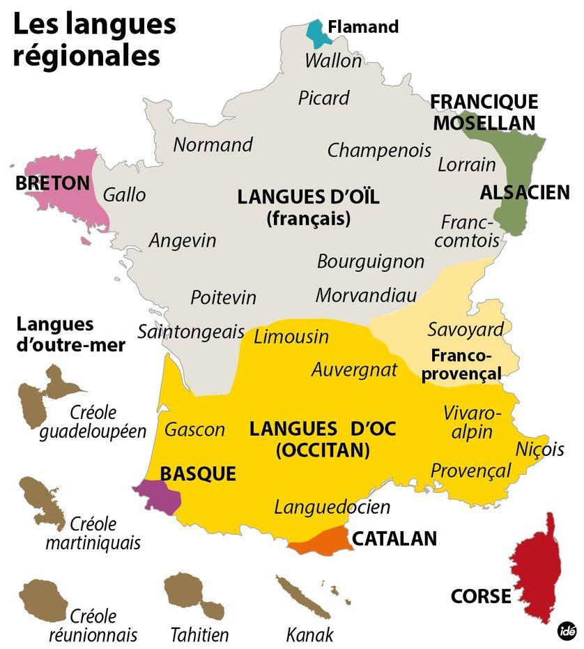 L'extraordinaire diversité des langues de France