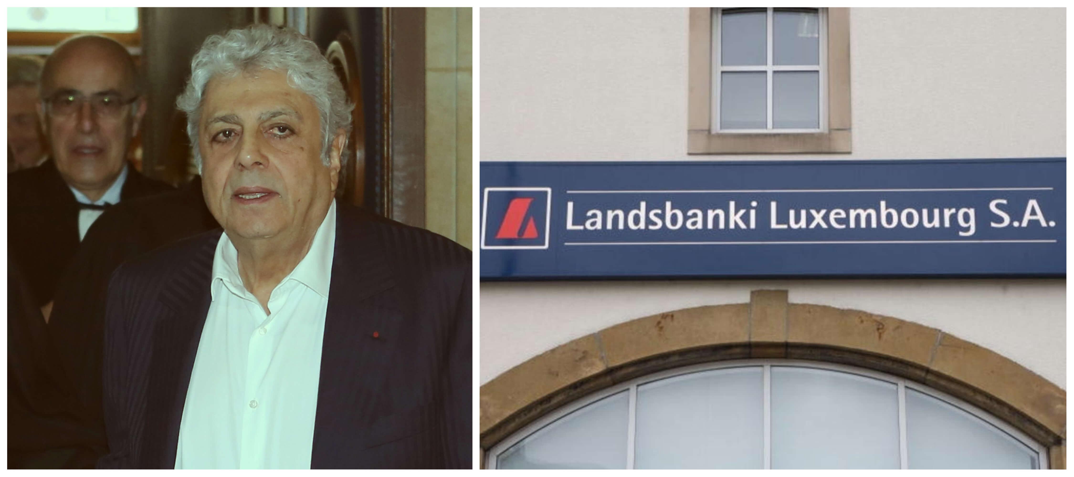 Enrico Macias doit 30 millions d'euros à la liquidatrice de la banque Landsbanki Luxembourg