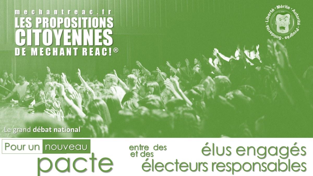 Grand Débat National : Les citoyens français doivent réinventer leur environnement politique