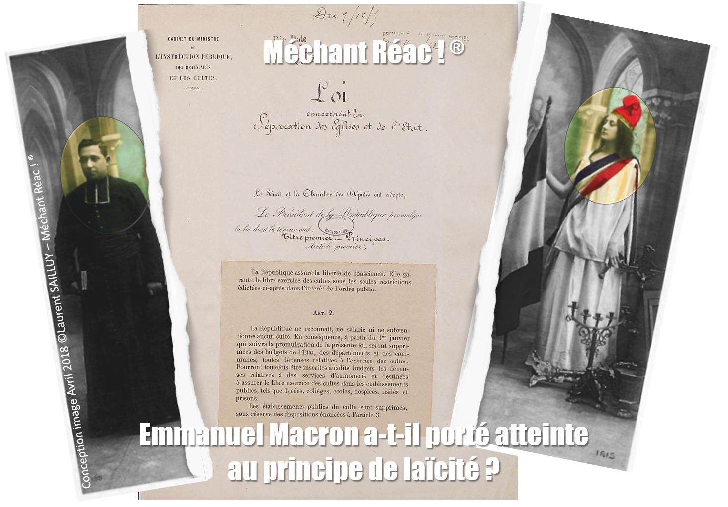 Le discours de Macron auprès des catholiques ne passe pas à gauche