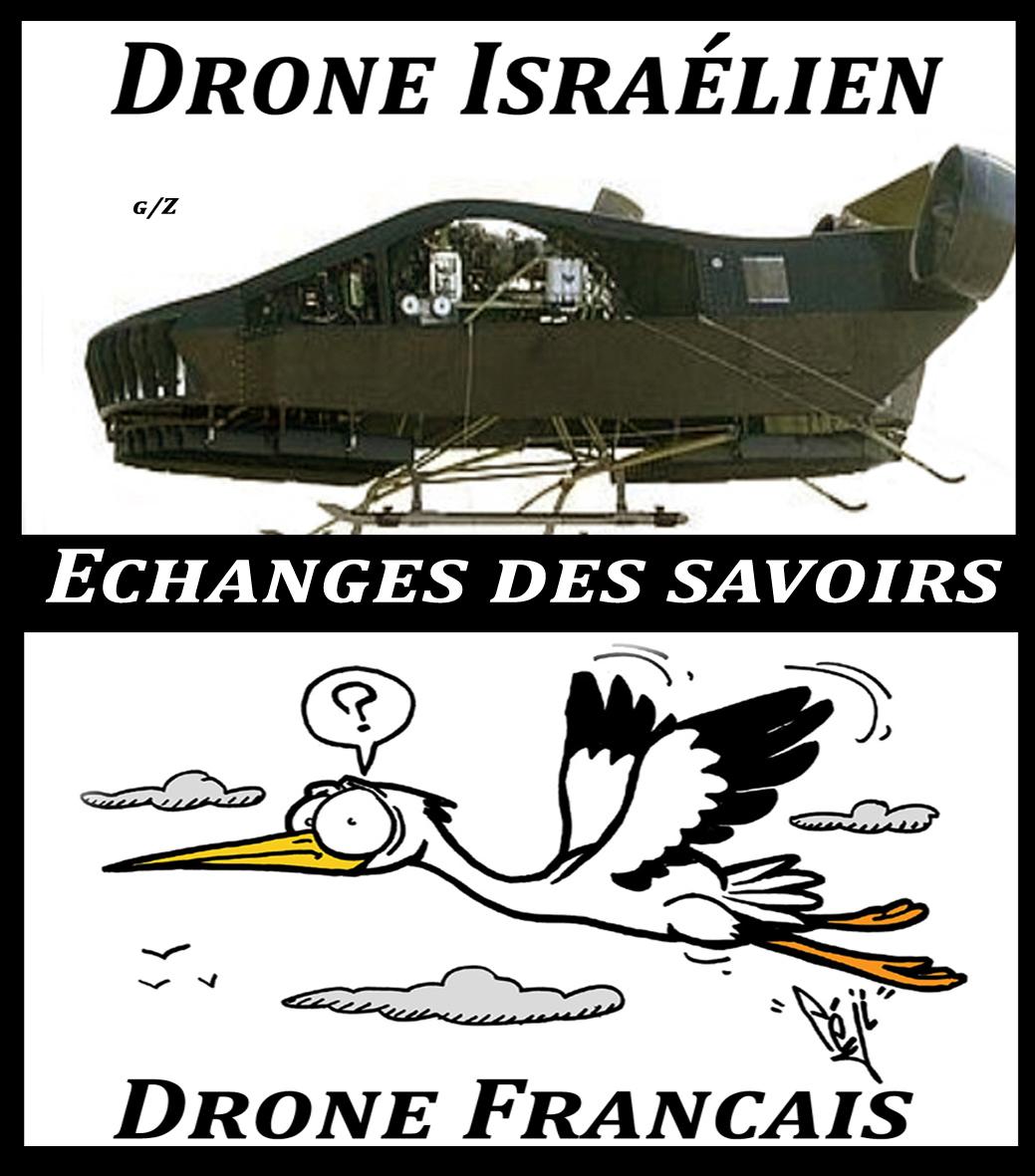La bande des Champs Elysées de Gaza
