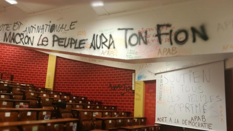 Occupation bidon de l'université Paris 1 Tolbiac : vers un nouveau saccage ?