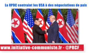 Rencontre Kim Trump, démonstration de paix de la Corée du Nord