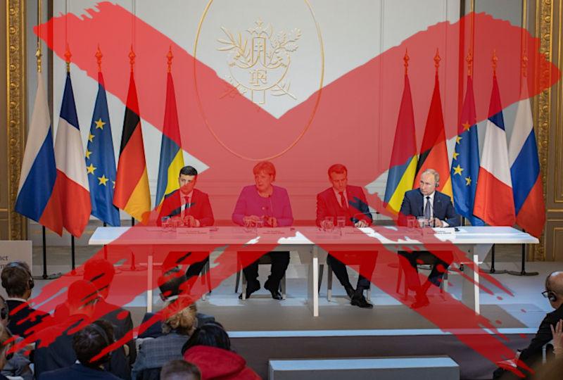 Medvedtchouk - La politique de Zelensky retarde la prochaine réunion au Format Normandie