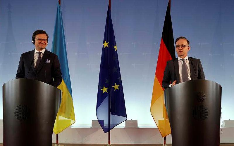 L'Ukraine fait de l'enfumage médiatique à Berlin concernant la guerre du Donbass