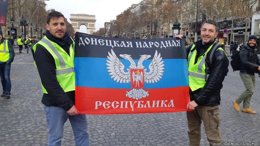 Gilets Jaunes : Moscou rejette les accusations d'ingérence de Paris