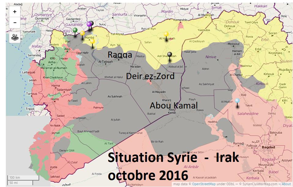 Les USA vainqueurs en Syrie !?