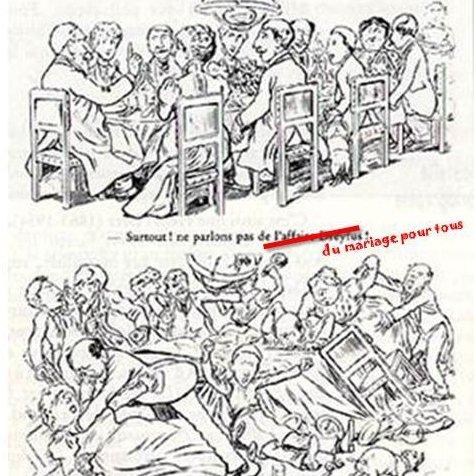 caricatures de mariage de même sexe