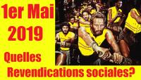 Mouvement social : 10 objectifs revendicatifs pour le 1er Mai et ensuite... !