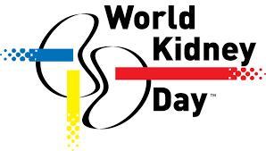 Logo officiel du World kidney day, la journée mondiale du rein