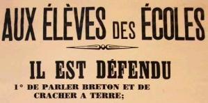 Il est défendu de parler breton