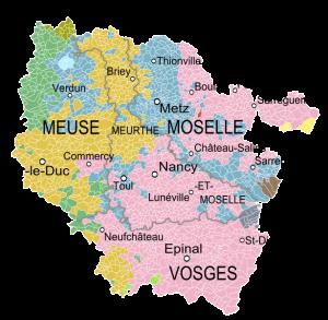 Tour d 39 horizon de la lorraine politique avant les for Metz code postal