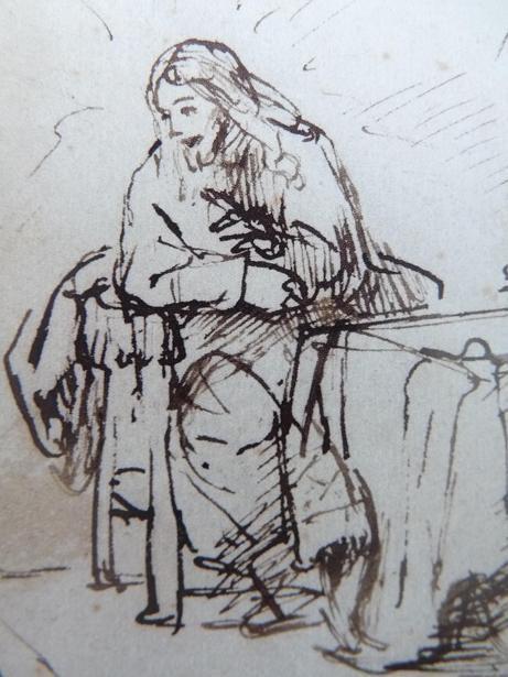 Rembrandt au Louvre : dans la modernité du Christ