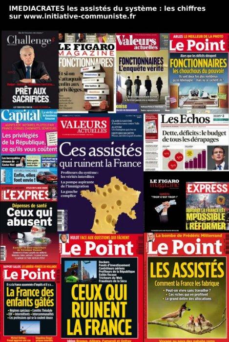 d7c3ca36402 Personne n a pu échapper à une de ces couvertures tapageuses des hebdos  dénonçant cette France « impossibles à réformer »