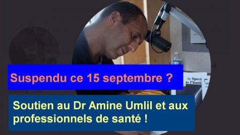 Pétition nationale en soutien au Dr Amine Umlil
