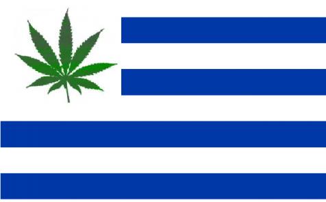 Bandera De Uruguay Y Paraguay