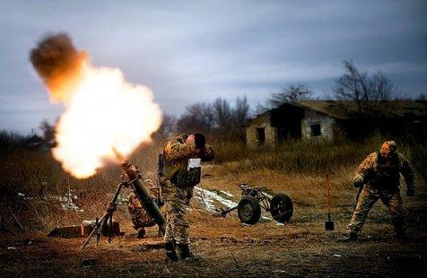 RPD – L'armée ukrainienne bombarde une école internat à Yassinovataya à coup d'obus de mortier de 120 mm
