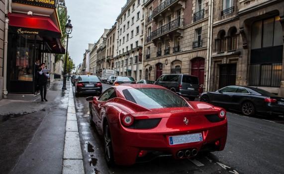 Une rue Parisienne