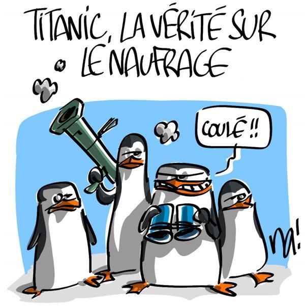 Titanic la v rit sur le naufrage agoravox le m dia citoyen - Dessin du titanic ...