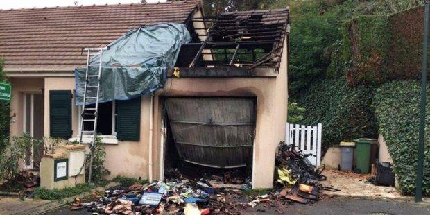 capteur compteur électrique Linky explosion incendie d'une habitation, maison à Bièvres en décembre 2017