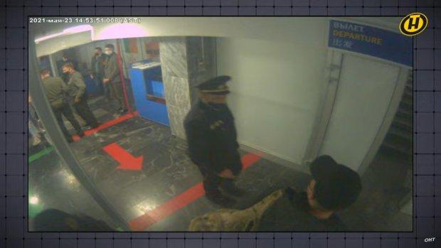 Zatčení římského Protasseviče na letišti v Minsku - Bělorusko