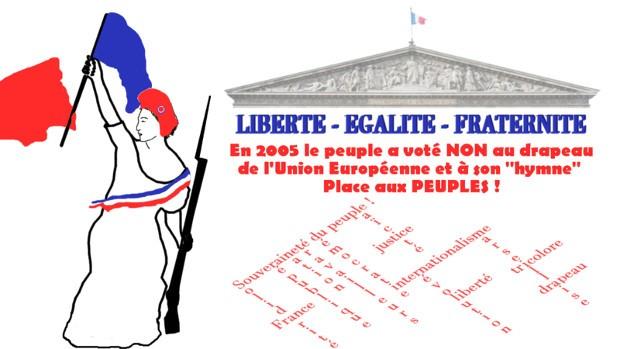 Qui est Emmanuel Macron ? - Page 8 Non-drapeau-europeen-de5eb
