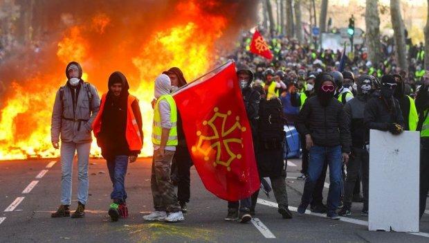 Gilets Jaunes, Toulouse (Occitanie), 8 décembre 2018