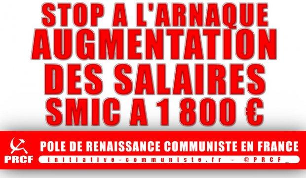 Macron Arnaque Les Travailleurs Et Refuse D Augmenter Le Smic Les
