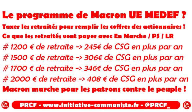 Hausse De La Csg Les Petites Retraites Taxees Pour Remplir Les
