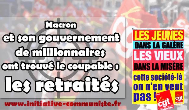 5da31756ee2a43 ... social énorme alors qu en 2018 il s attaque aux fonctionnaires, aux  étudiants et aux chômeurs. De fait Macron et son gouvernement de  millionnaires ont ...