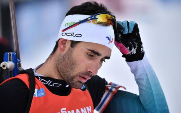 Martin Fourcade en plein doute (photo Le Parisien) {JPEG}