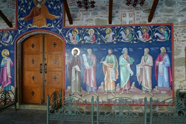 Fresque orthodoxe