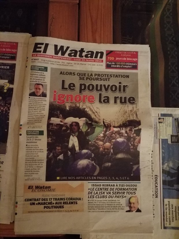Algérie : le Clan face à la vague