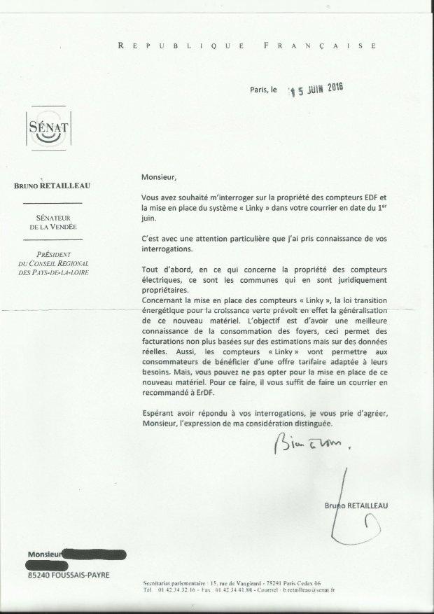 Compteur électrique Linky pas obligatoire, mensonges d'EDF ERDF ENEDIS, désinformation, divulgation de fausses nouvelles