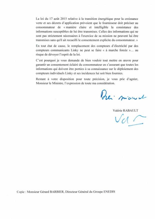 Les compteurs électriques Linky ne sont pas obligatoires, lire la lettre de la raporteur générale de la commission des finances